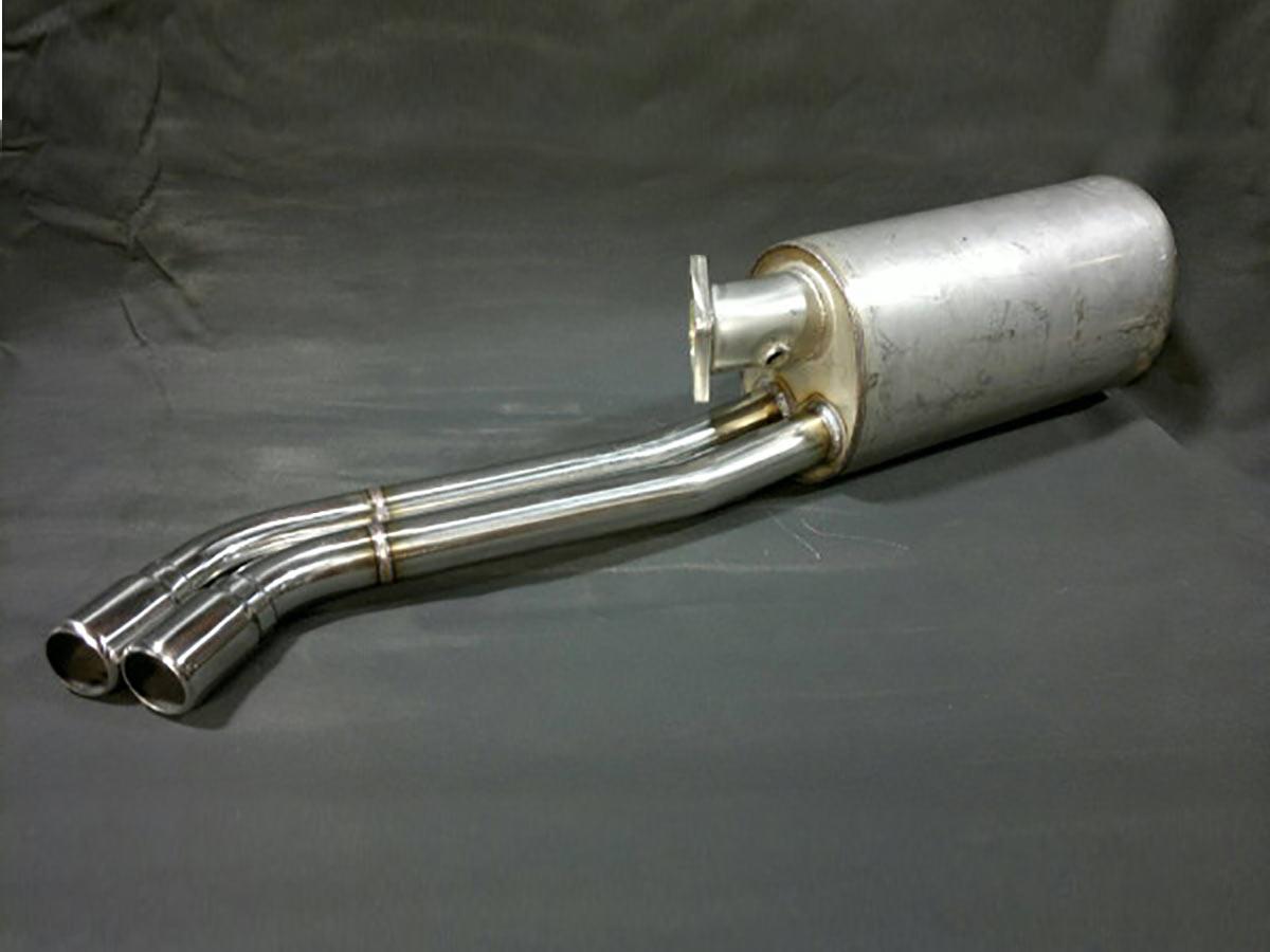 911 (930) Stock style muffler